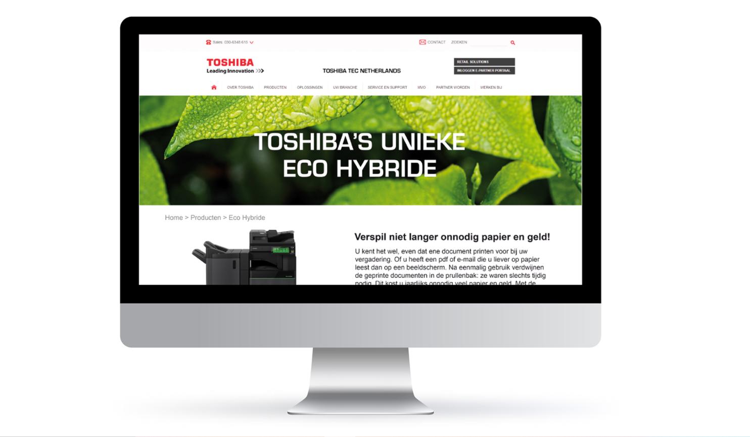 Toshiba's unieke eco hybride