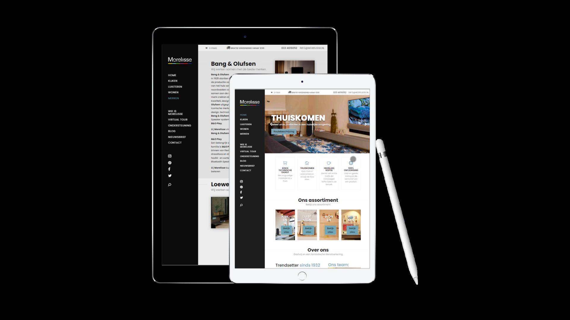 Quinta Bogesi webdesign portfolio 2handenvrij