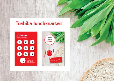 Toshiba | Lunchkaart
