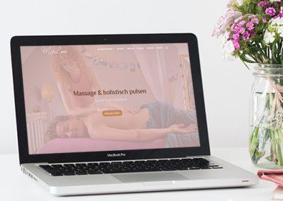 Mariluna massage | Webdesign