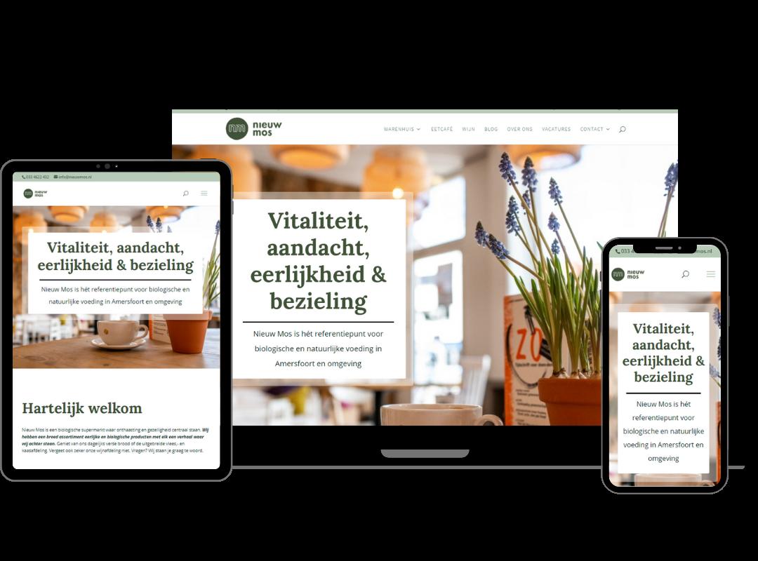 Responsive webdesign Vital4Life | 2handenvrij