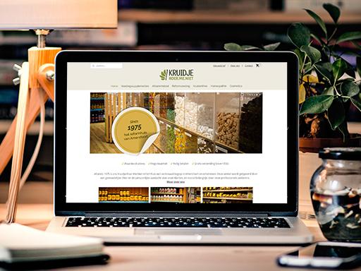 KRMN webshop design door 2handenvrij