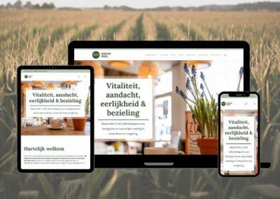 Nieuw Mos Natuurvoeding | Webdesign